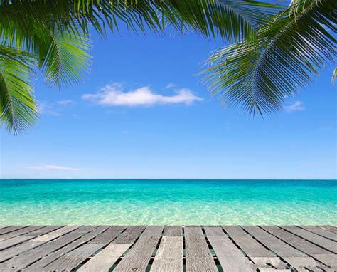 Tropical Beach Backgrounds Vinyl  Free Best Hd Wallpapers
