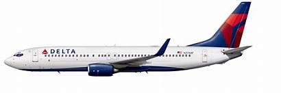 737 Boeing 800 Delta Aircraft 738 Profile