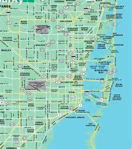 Miami Beach Neighborhoods Map