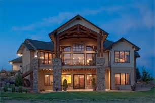 Pictures Rear View Home Plans by Craftsman Luxury Ranch Style House Plans House Plans
