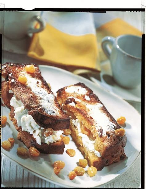 dessert a la ricotta recette croq dessert 224 la ricotta et aux raisins secs