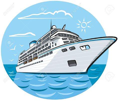 Ship Animation by Cruise Ship Clipart Cartoon Pencil And In Color Cruise