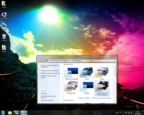 theme de bureau windows 7 surreal territory theme de bureau télécharger