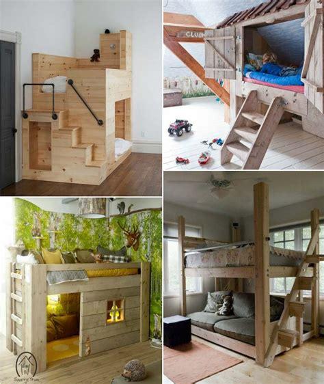 fabriquer une chambre en lit enfant original à fabriquer soi même et idées de