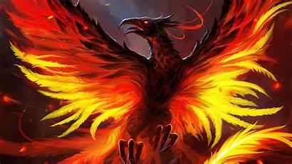 Phoenix 4k Bird Wallpapers Resolution Artwork 1080p