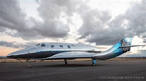 Virgin Galactic unveils new generation spaceship: VSS Imagine