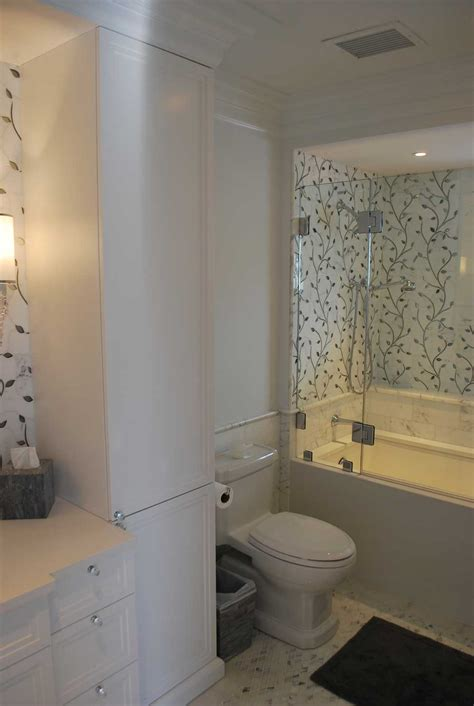 marble glass bathroom remodel concept ii