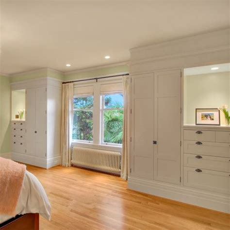 built in closets home ideas