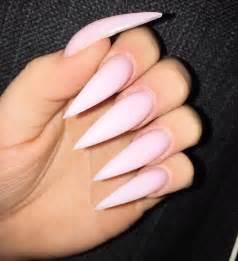 Best pink stiletto nails ideas on