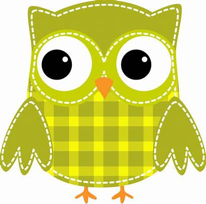 Owl Clipart Printable Buhos Kawaii Dibujos Clip