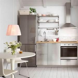 Cuisine Studio Ikea : petites cuisines ikea toutes nos inspirations cuisine ~ Melissatoandfro.com Idées de Décoration