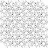 Escher Triangles Nested sketch template
