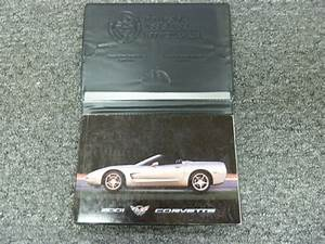 2001 Chevy Corvette Coupe Convertible Owner Owner U0026 39 S Manual