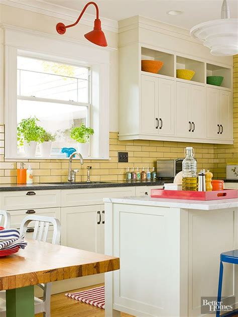 creative backsplash ideas backsplash  white cabinets