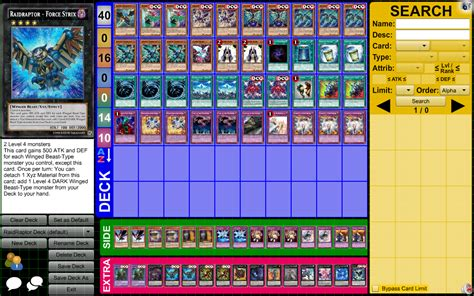 tier 1 yugioh decks raidraptor deck profile february 2015 pojo forums