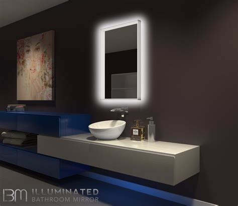 dimmable lighted mirror acrylic    ib mirror
