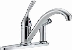 Delta Single Handle Kitchen Faucet  U2013 Freshsdg