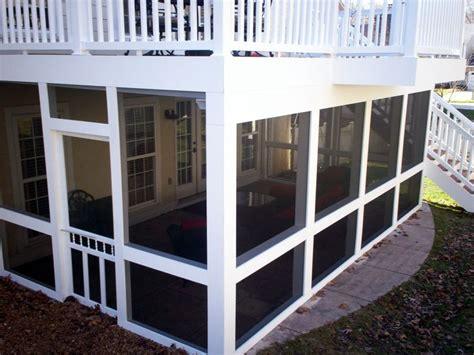 deck walkout basement my home
