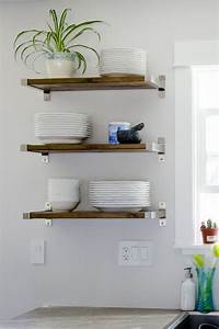 24 brilliant ikea hacks to transform your kitchen and With why choosing floating kitchen wall shelves
