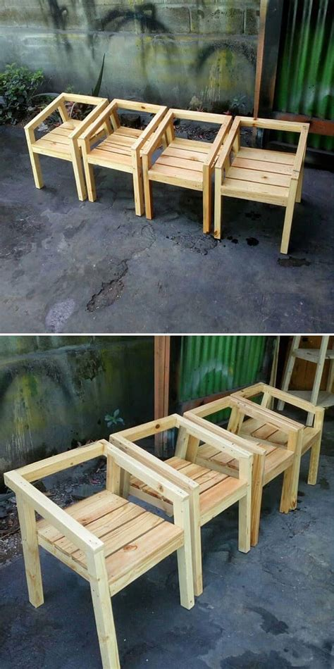 classic wooden pallet projects ideas pallet chairs