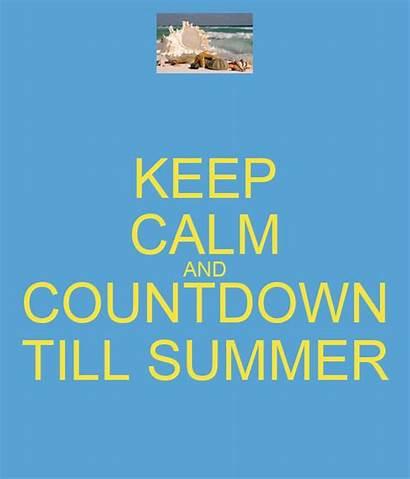 Countdown Summer Till Calm Keep Matic