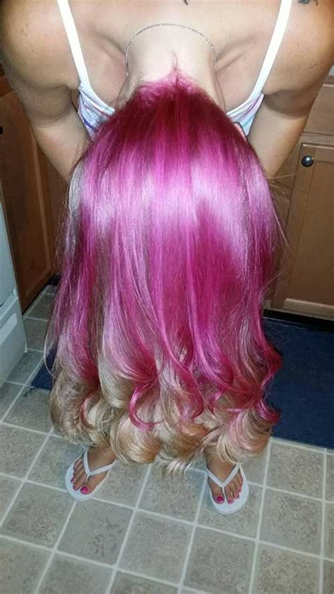 pink blonde hair color hairstyles  haircuts lovely hairstylescom