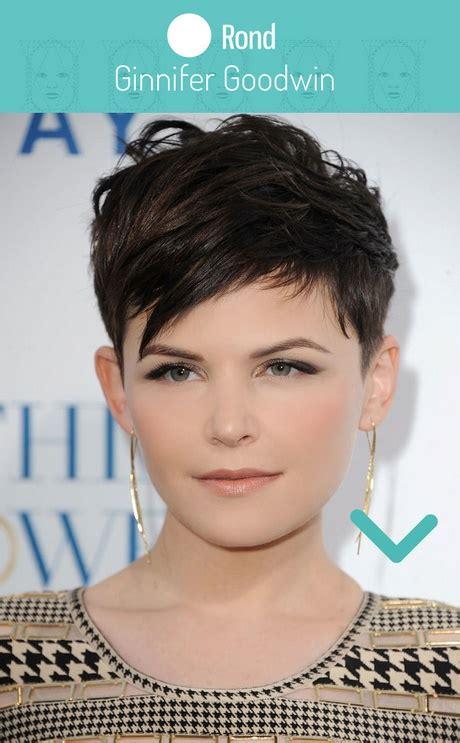 coupe courte femme visage rond coupe courte visage rond cheveux fins