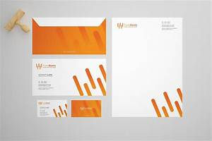 Tune Beat Stationery Design Template
