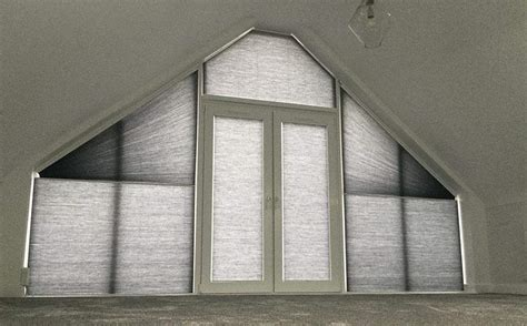pick   triangular window blinds conservatory blinds