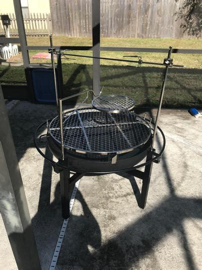 rivergrille cowboy   charcoal grill  fire pit
