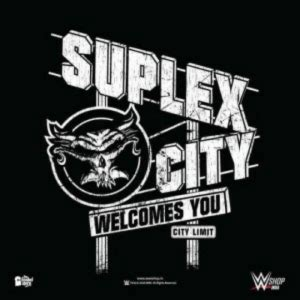 suplex city welcomes  city limit wor wswop posters