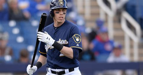 Christian Yelich, Lorenzo Cain Get To Stop Talking And Play