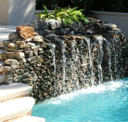 wasserfall wand selber bauen wasserfall im garten selber bauen 99 ideen wie sie die harmonie der natur genie 223 en