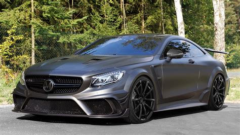 mercedes benz   amg coupe black edition  mansory