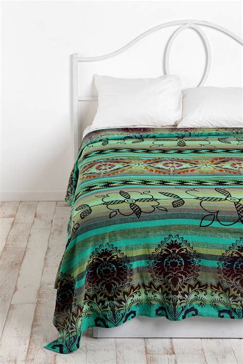outfitter bedding overprinted stripe tapestry outfitters