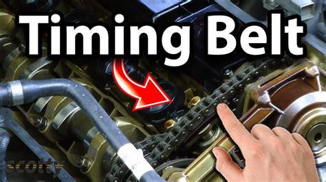 finding   timing belt  chain  worn youtube