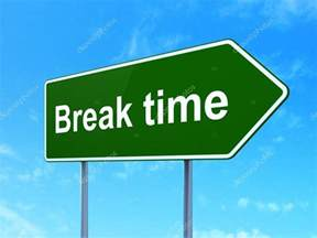 Break Time Sign Printable