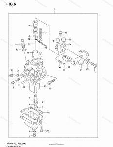 Suzuki Motorcycle 2000 Oem Parts Diagram For Carburetor