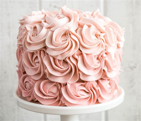 ombre rosette cake  kitchen love