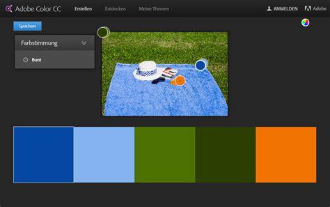 Zueinander Passende Farben by Passende Farben Mit Adobe Color Cc J 246 Rgs