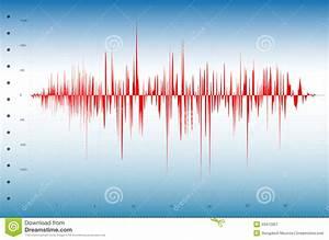 Earthquake Graph Stock Vector  Illustration Of Earthquake