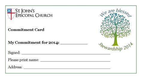 pin church pledge card template  pinterest