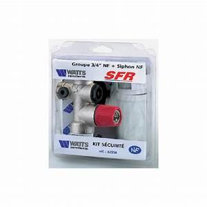 Rendre Box Sfr En Magasin : groupe de s curit droit sfr 3 4 avec siphon ~ Dailycaller-alerts.com Idées de Décoration