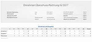 Einnahmen überschuss Rechnung Kleinunternehmer Vorlage : numbers vorlage einnahmen berschuss rechnung 2017 ohne ust ~ Themetempest.com Abrechnung