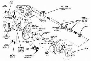 89 F150 4x4 Front Wheel Bearing