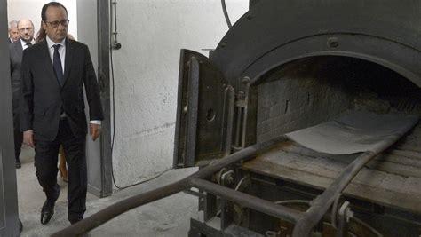 chambre a gaz libération des cs de concentration françois hollande