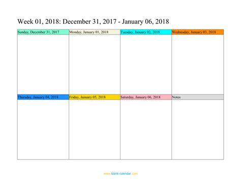 weekly calendar template 2018 weekly calendar 2018 word excel pdf