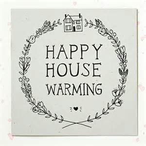 Happy House Warming Greeting Card