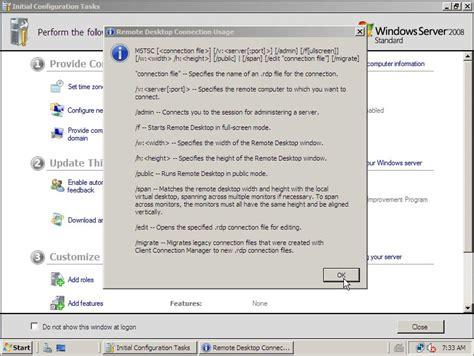 console terminal windows 7 mstsc console on vista free adultbasics