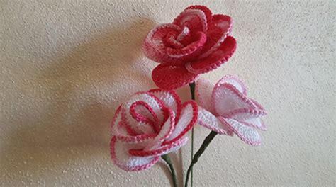 fiori fatti a uncinetto fiore